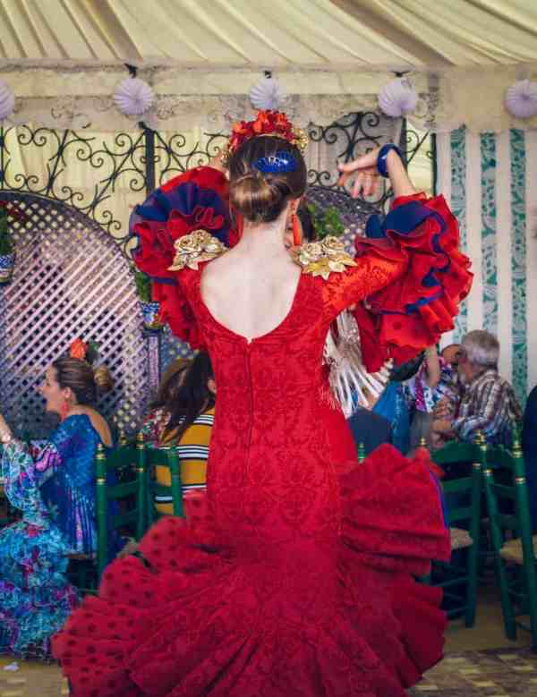 Singles en la Feria de Sevilla