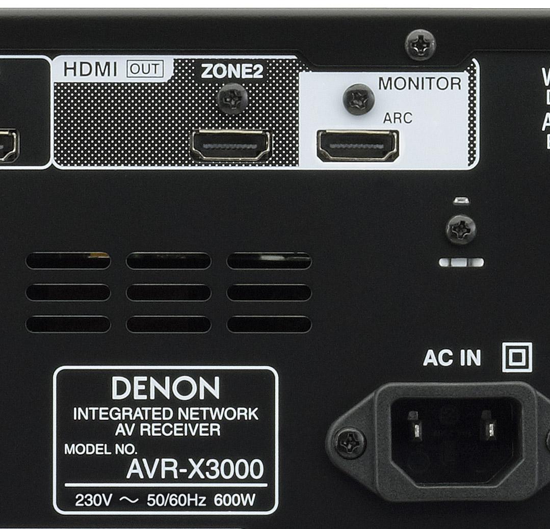 Denon avr 3000 user Manual