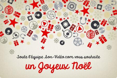 Toute l'équipe de Son-Vidéo.com vous souhaite un joyeux Noël !