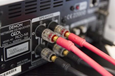 La Denon Ceol N8 excellente partenaire des Quantum Edelstein, ici avec des câbles Viard Audio Silver HD12