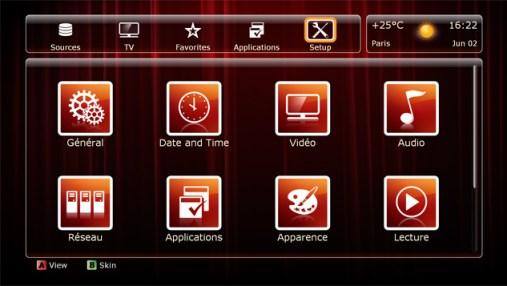 Si on possède une tablette, mieux délaisser l'interface OSD du Zappiti Player Mini.