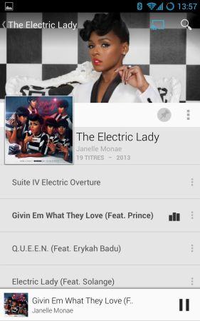 L'album de Janelle Monae écouté depuis Google Play Music nous a emballé