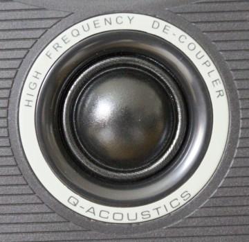 Le tweeter de l'enceinte colonne Q Acoustics 2050i