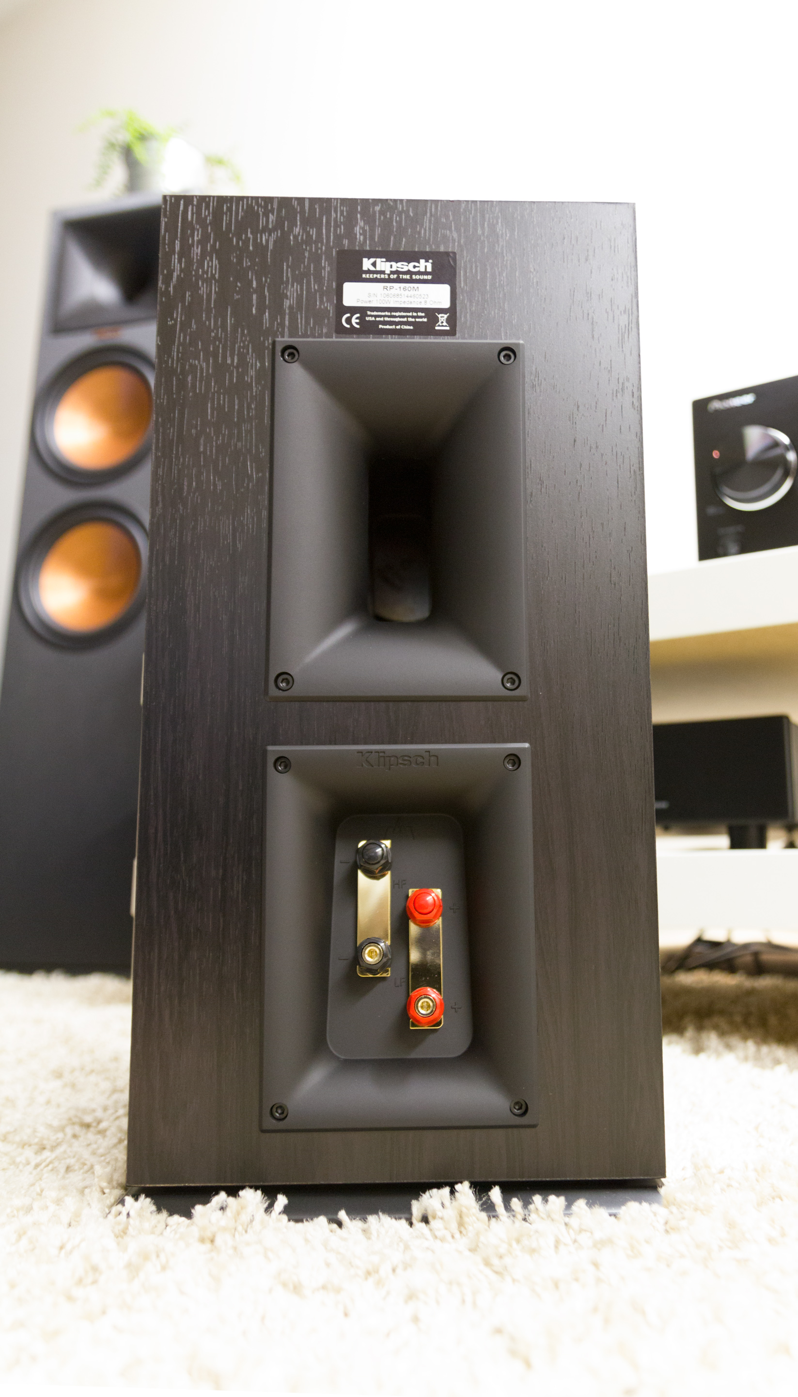 Review: Klipsch RP-280F, RP-160M and RP-540C speakers - Son