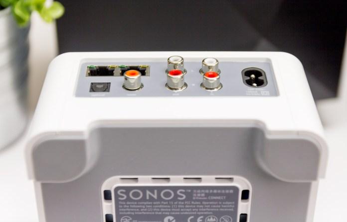 Sonos Connect connectique