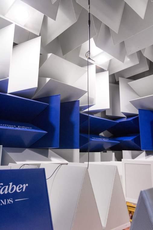 La chambre anéchoique du bureau de recherche et développement de Sonus Faber