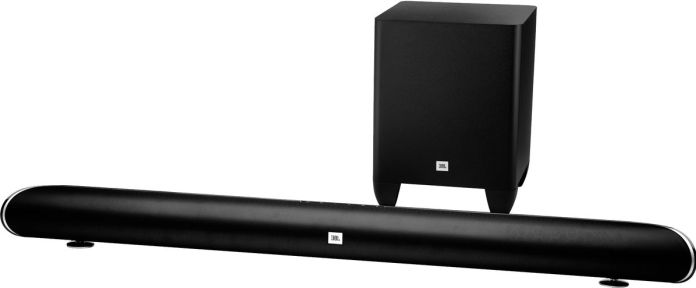La barre de son JBL Cinema SB350 nativement compatible Dolby Digital Plus.