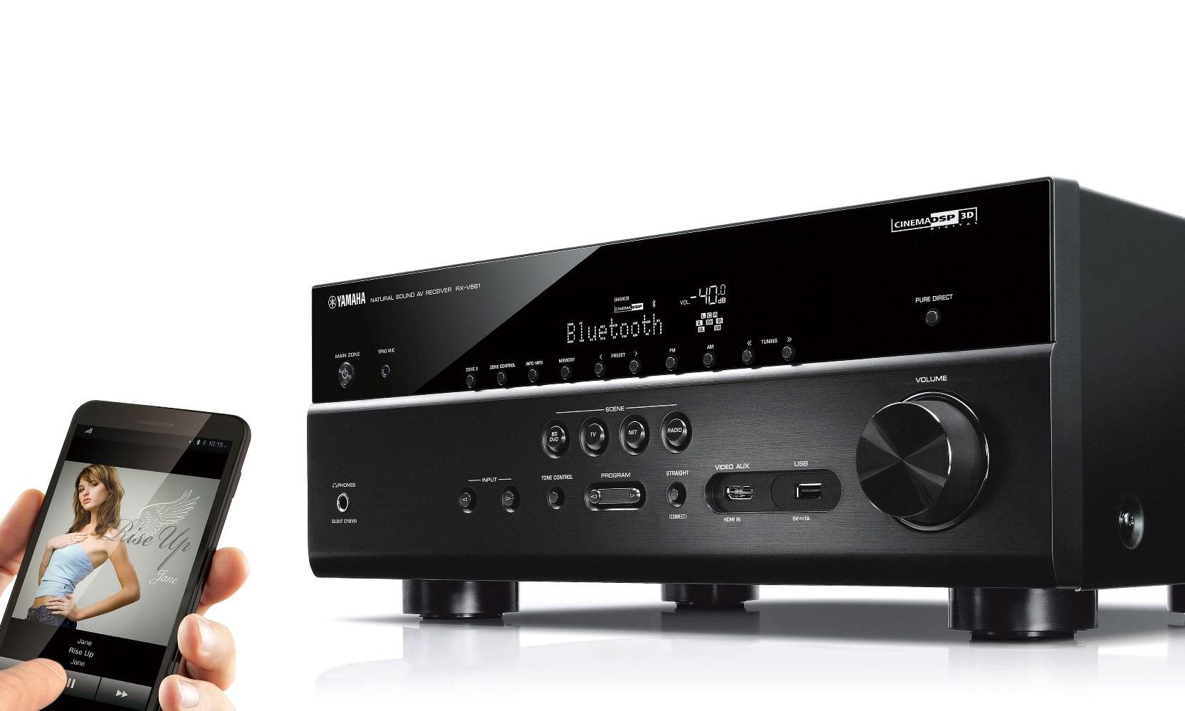 yamaha's latest line of home cinema receivers: rx-vx81 - son-vidéo