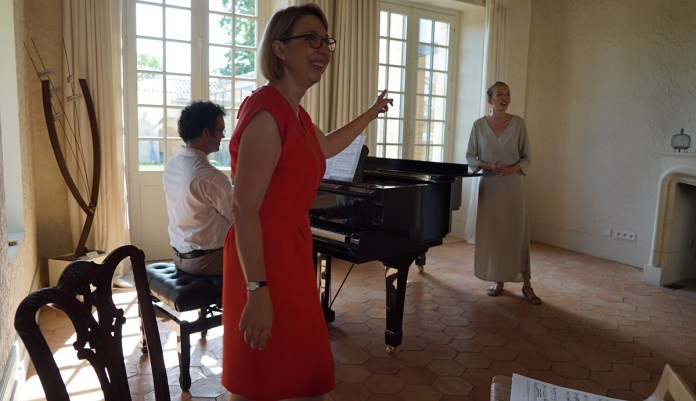 Masterclass avec Irène Kudela