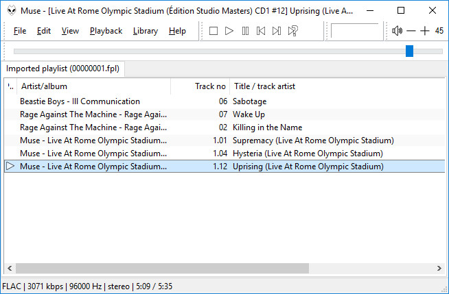 Optimizing your network player or amplifier by using Foobar - Son