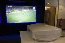 Festival Son&Image videoprojecteur 4k Sony SXRD écran