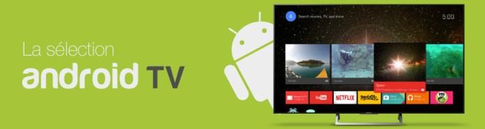 Les téléviseurs Android sont compatibles avec myTF1 et leur Chromecast intégré permet un contrôle direct depuis l'app iOS ou Android myTF1.