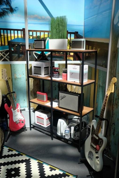 Enceintes bluetooth Fender aux Sound Days