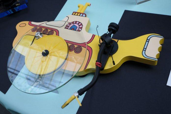 La platine vinyle Pro-Ject Yellow Submarine