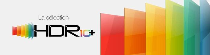 Sélection de TV et lecteurs Blu-ray HDR10+