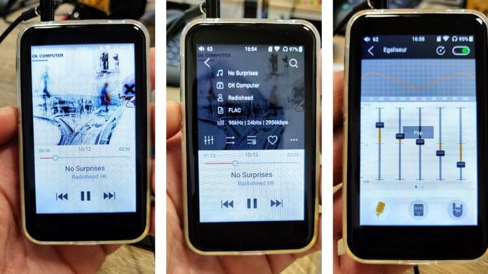 FiiO M6 : app FiiO Music