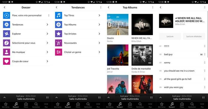 App Sonos : Deezer