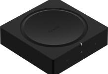 Sonos Amp - Vue de dessus en perspective