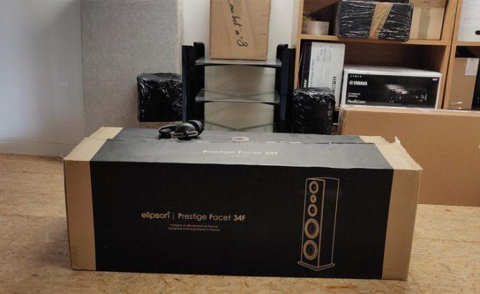 Elipson Prestige Facet 34F : packaging
