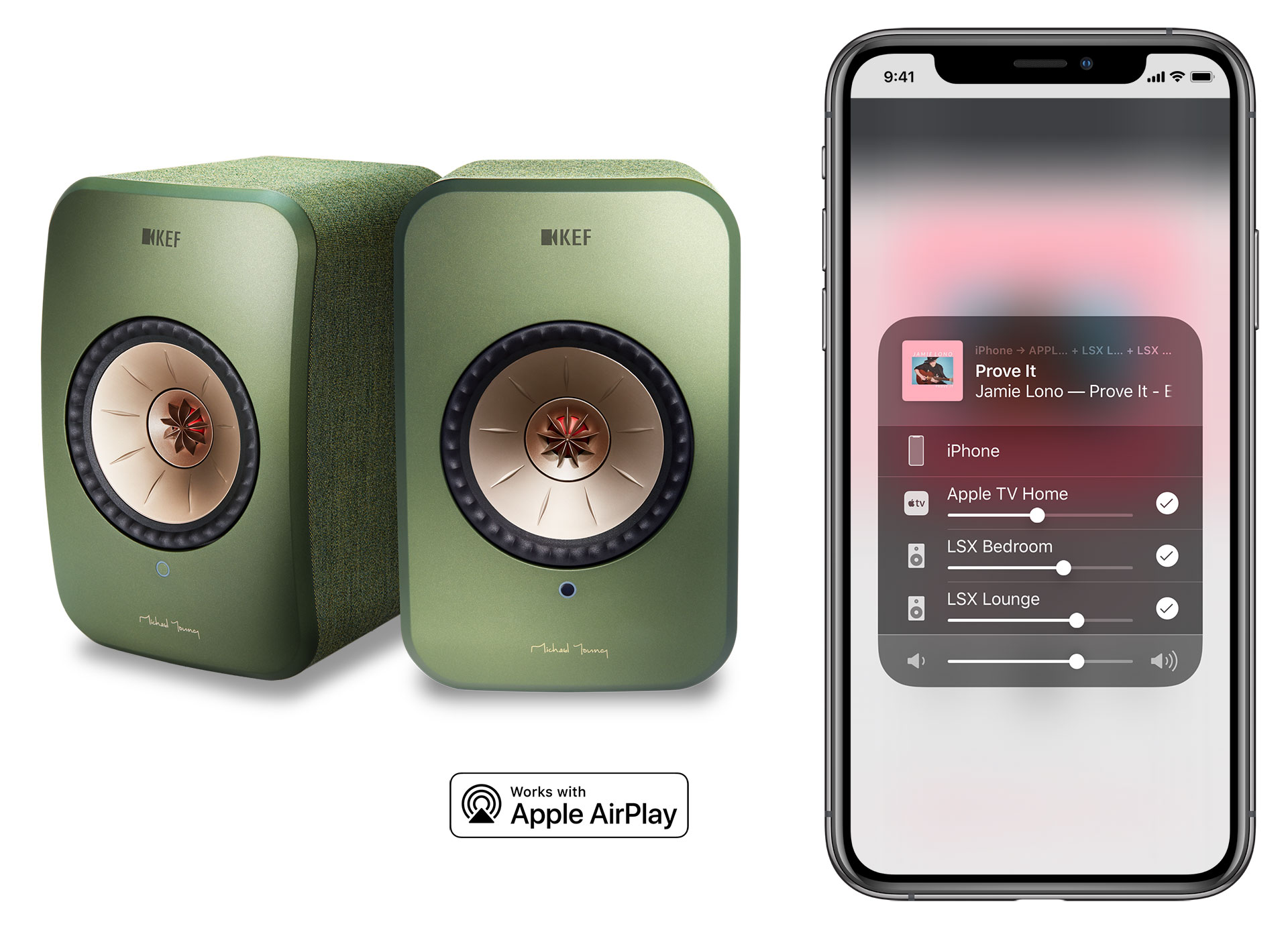 AirPlay 2 is now available for the KEF LSX Wireless speakers