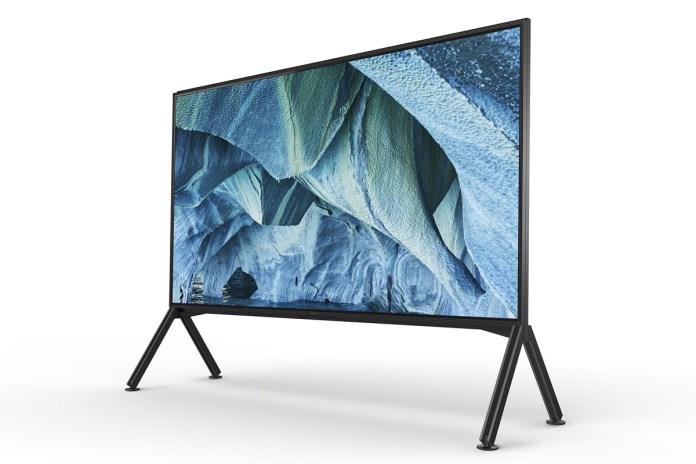 Le plus grand téléviseur Sony avec 248 cm de diagonale: SONY KD-98ZG9.