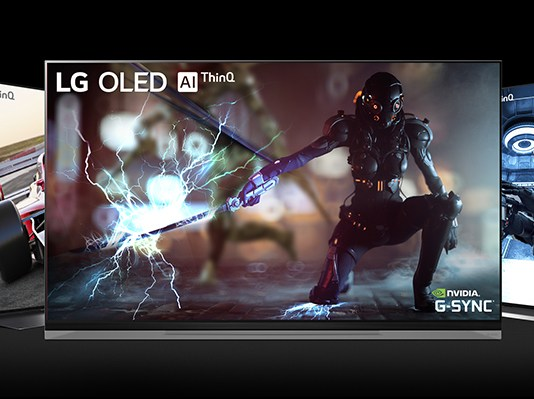 TV LG OLED compatible Nvidi G-sync
