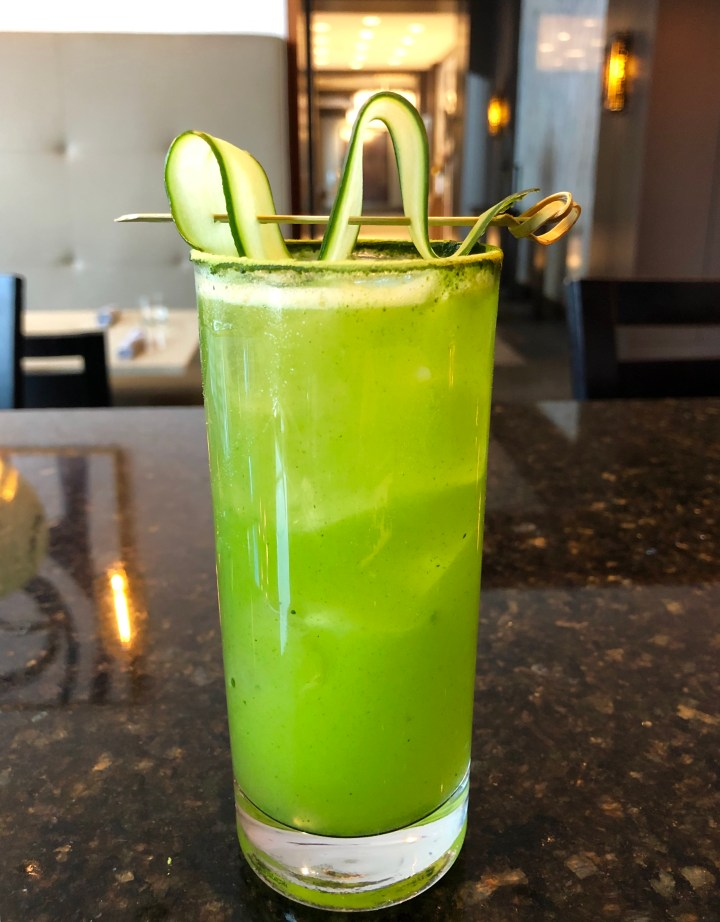 Green River Cocktail Chicago