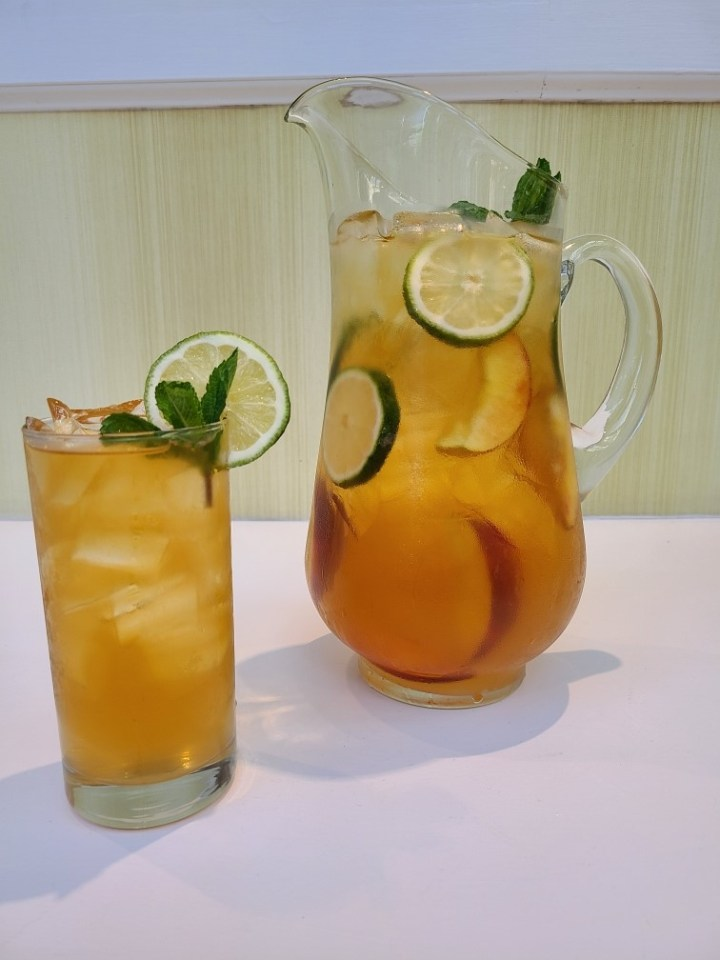 Peach Mint Refresher