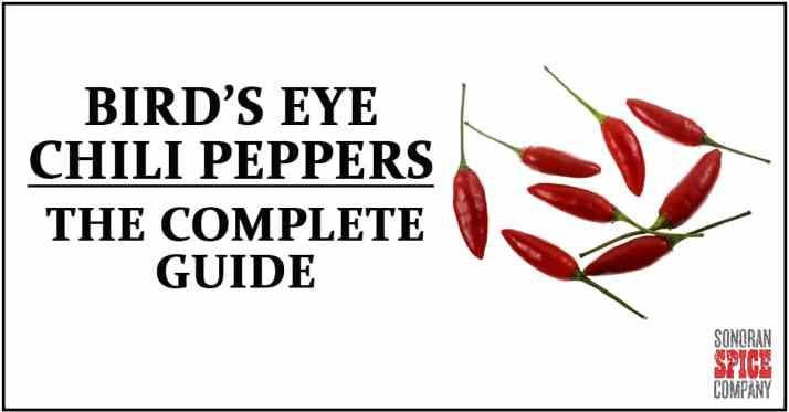 Bird's Eye Pepper Guide