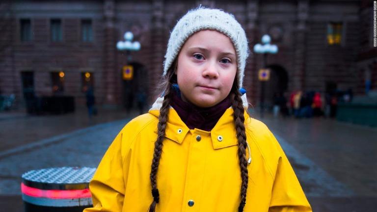 自分の行動が世界を変えると信じる子供たち