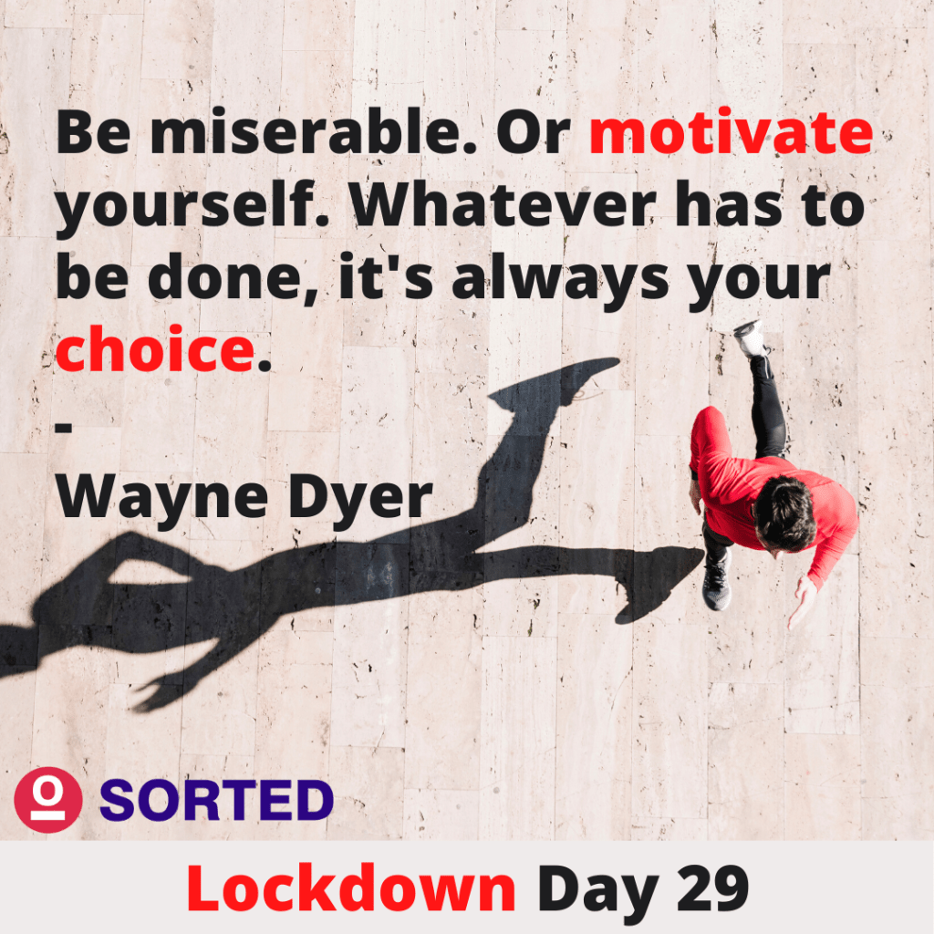Wayne Dyer's Motivational Quote - Motivational Lockdown Quotes