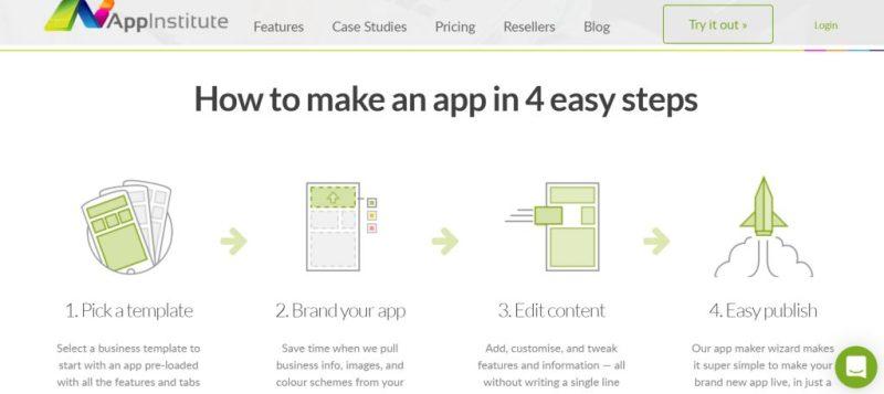 App Institute Homepage