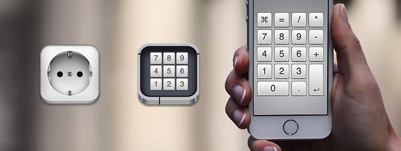 iPhoneをMacのテンキーにするNumPad