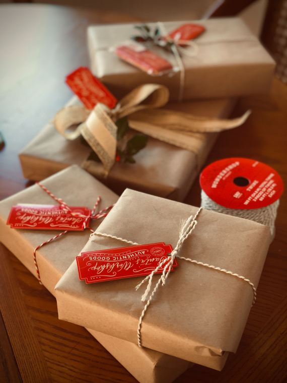 wrapping paper environment tips