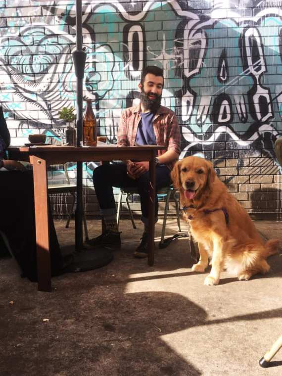 Dog-friendly cafes Pixie and the Hawk