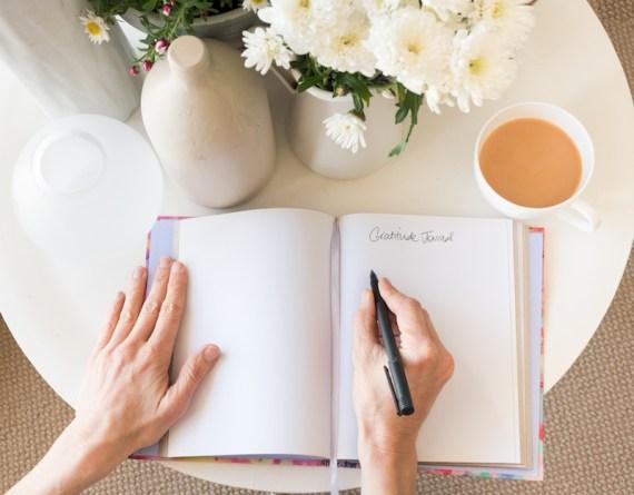 Start a daily gratitude journal