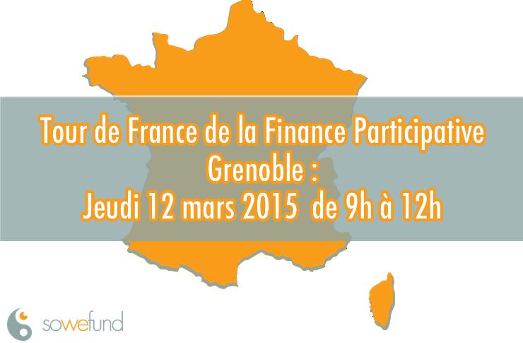 Sowefund participe au Tour de France de la Finance Participative