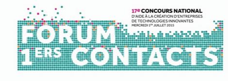 Intervention de Georges Viglietti lors du Forum 1ers contacts