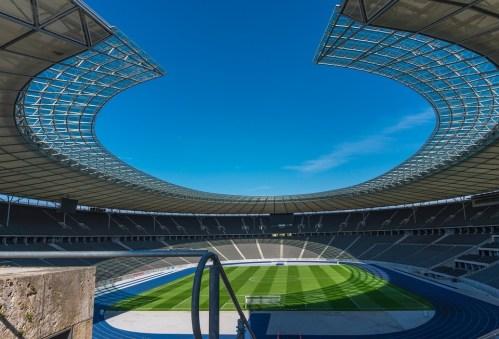 magnifique stade de foot