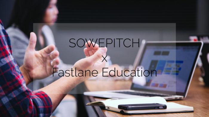 Sowepitch du 27 mai 2021 : Fastlane Education