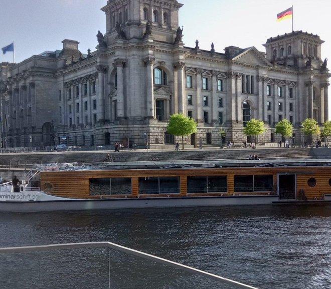 Seminarschiff Berlin: Zwei Tipps für Meetings auf dem Wasser