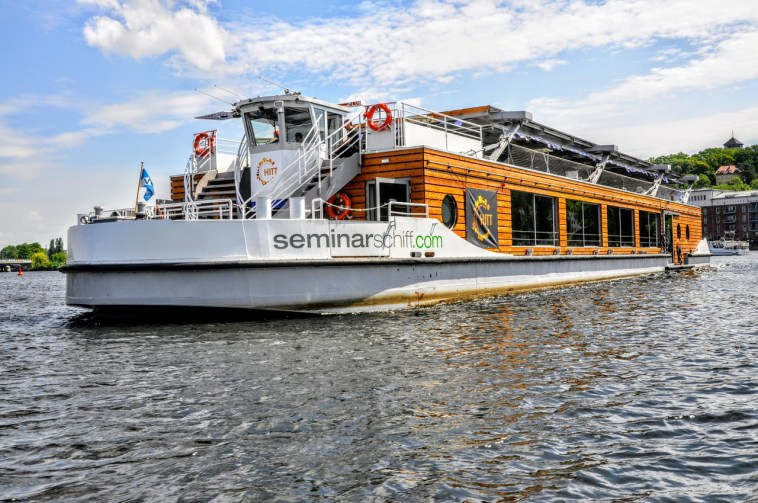 CO² neutrales Seminarschiff Berlin