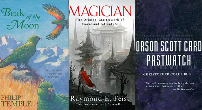 Three favorite books by Tony Meyer