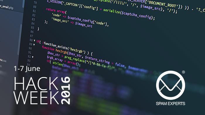 SpamExperts Hack Week 2016