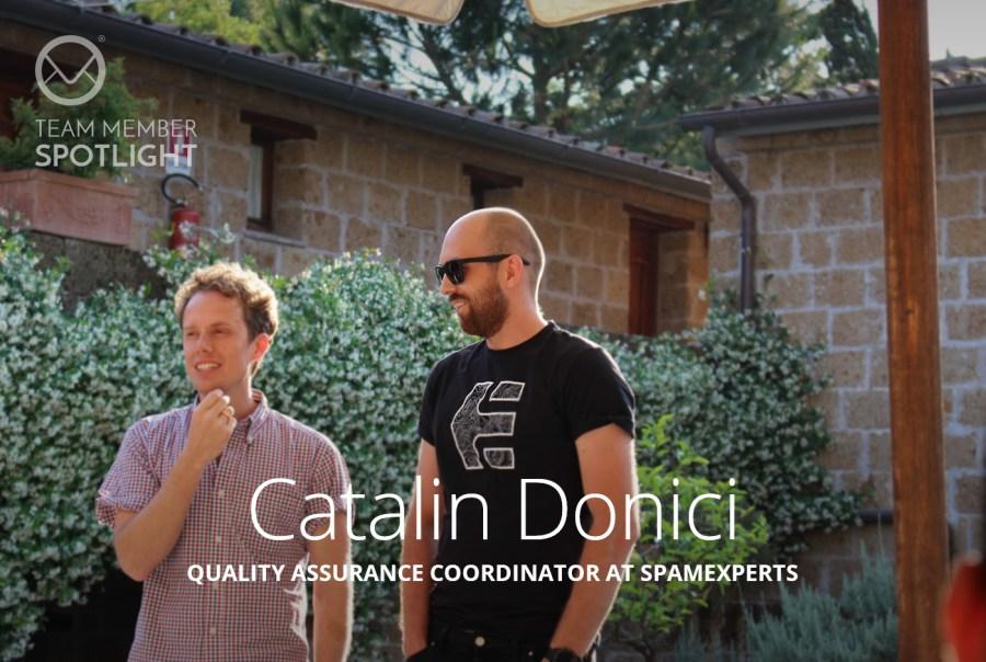 Catalin Donici Team Member Spotlight
