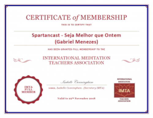 IMTA Membership Certificate
