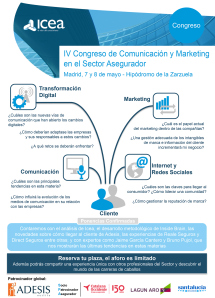 Congreso de Comunicación y Marketing en el Sector Asegurador
