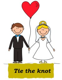 Idioms: Tie the knot | Speakup Blog