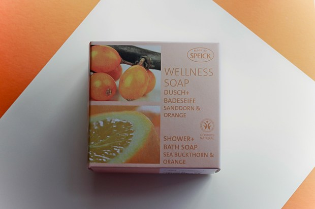 speick wellness soap sanddorn orange