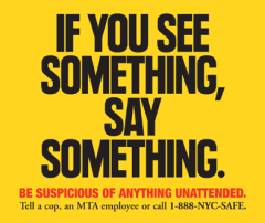 """""""If You See Something"""" poster"""